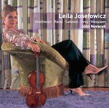 Leila Josefowicz - John Novacek - 2CD recital
